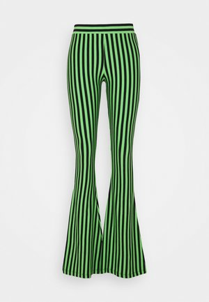 RAJ FLARED LEGGINGS - Legíny - mint