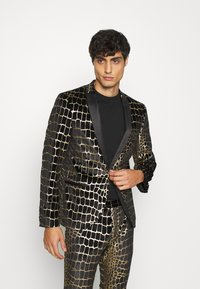 Twisted Tailor - BEGBY SUIT - Suit - black gold - 2