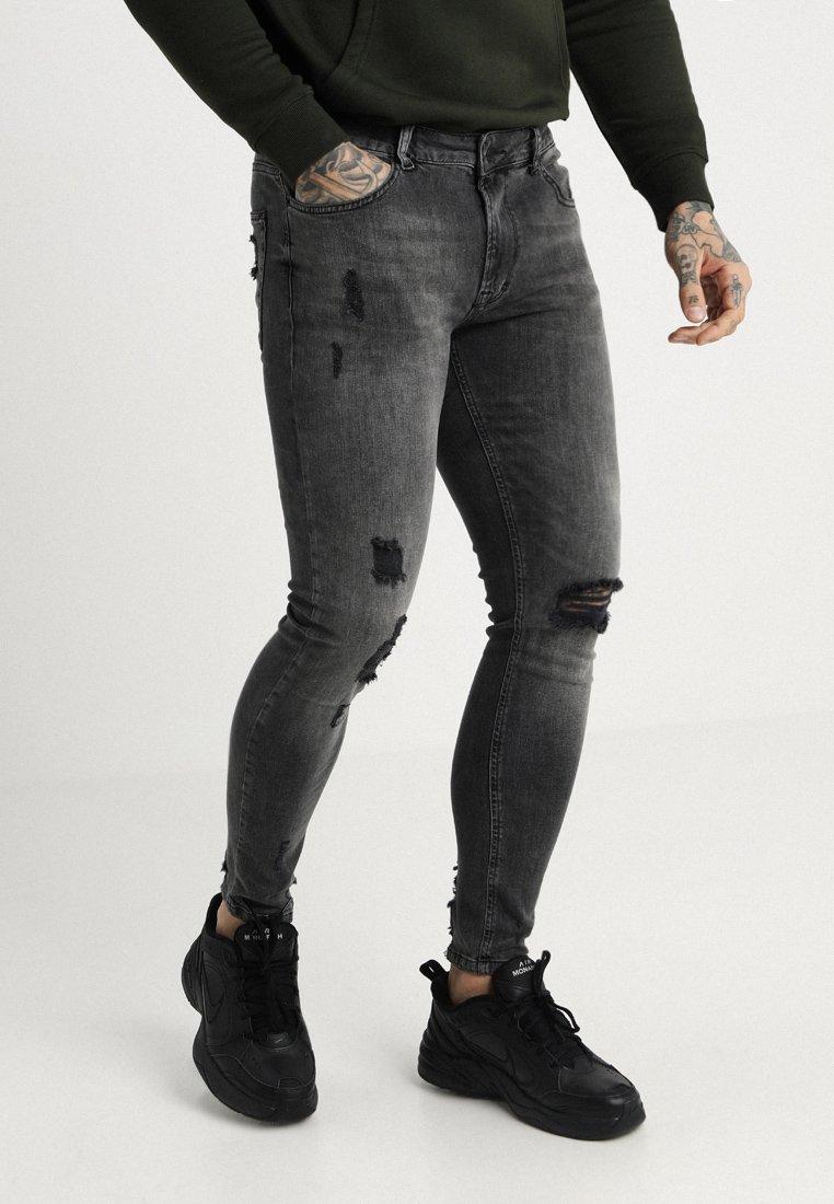 Pier One - Skinny džíny - black denim