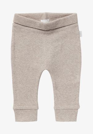 BABY COMFORT NAURAL UNISEX - Trousers - taupe melange