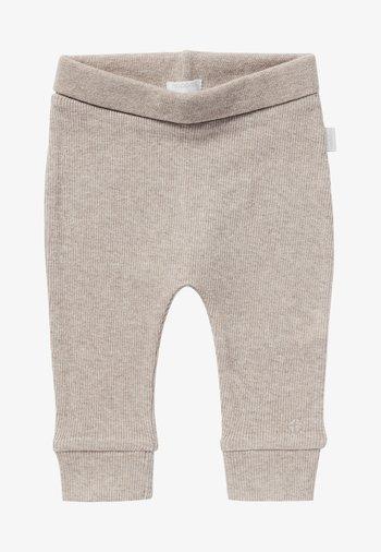 BABY COMFORT NAURAL UNISEX - Tracksuit bottoms - taupe melange