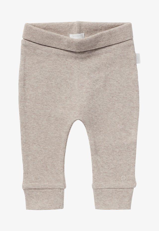 BABY COMFORT NAURAL UNISEX - Broek - taupe melange