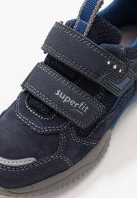 Superfit - STORM - Boty se suchým zipem - blau - 5