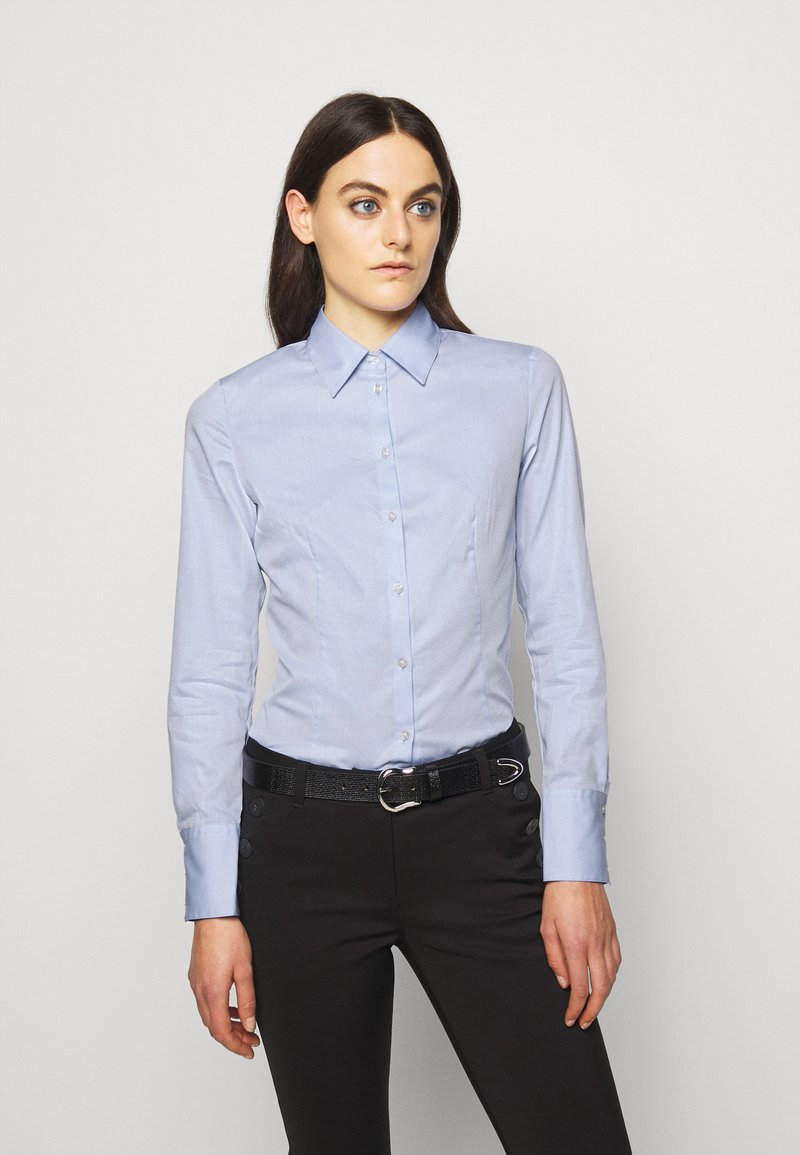 HUGO - THE FITTED - Blouse - light pastel blue