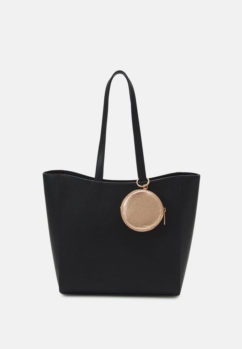 Even&Odd - Tote bag - black/rose gold