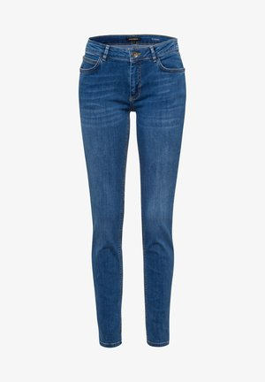 Slim fit jeans - blau-metallic