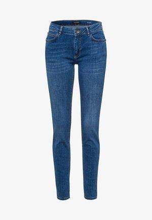 Slim fit jeans - blau-metallic