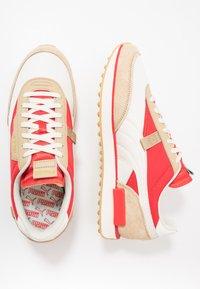 Puma - RIDER - Sneakers basse - whisper white/pebble/high risk red - 1