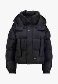 Sixth June - SHORT PUFFER JACKET HOOD - Winter jacket - black - 5