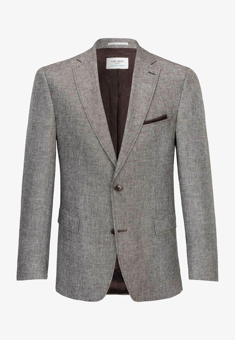 Carl Gross - CG THEO-G SV - Blazer jacket - braun
