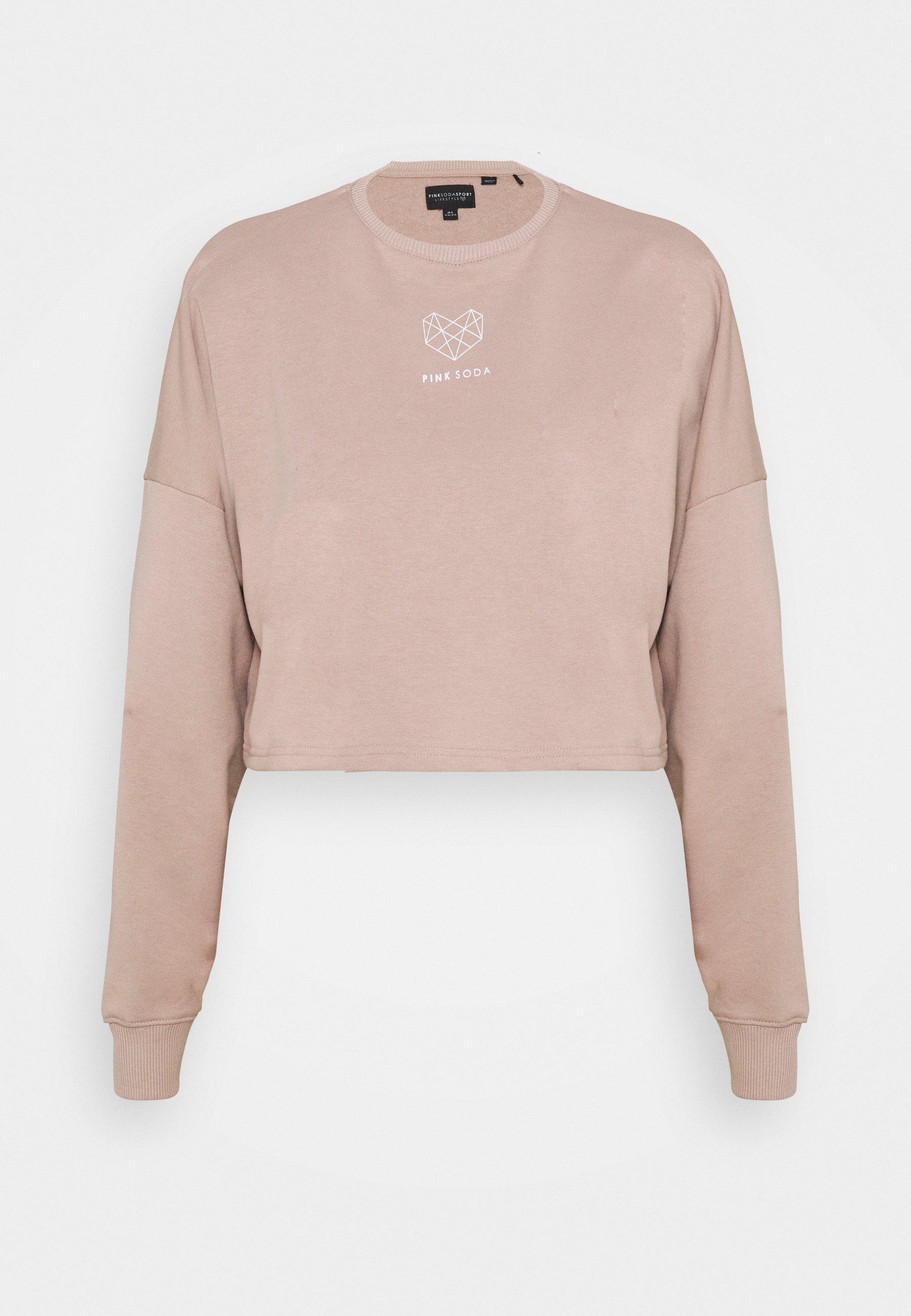 Women DUNE CROP CREW - Sweatshirt