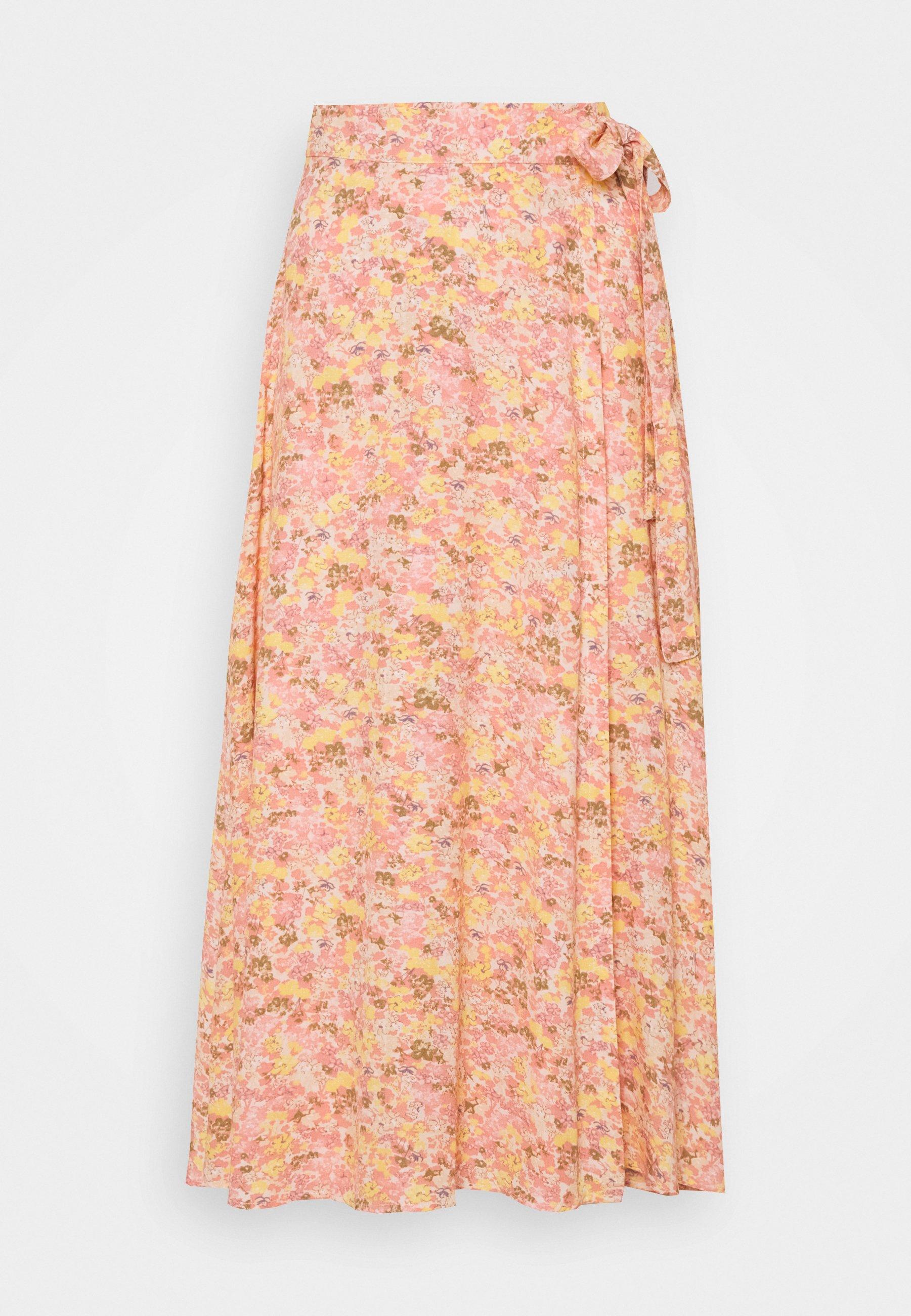 Women YASPICCA WRAP MIDI SKIRT - Wrap skirt