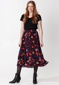 Indiska - SIBEL - A-line skirt - black - 1