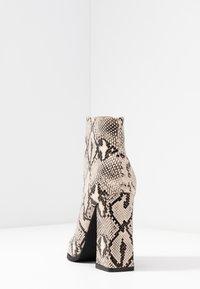 RAID - NEETA - Ankle boots - beige - 5