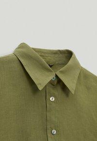 Massimo Dutti - Skjortebluser - green - 2