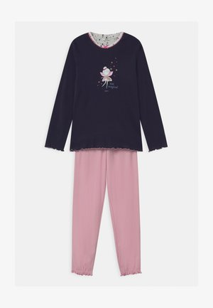 JAHNA - Pyjama set - dark blue/light pink