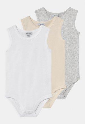 3 PACK UNISEX - Body - grey melange