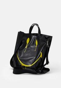 Steffen Schraut - SMUDGE - Shopping bags - black/yellow - 3