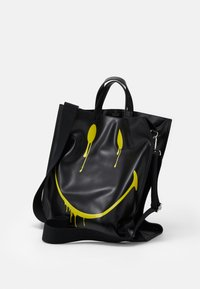 Steffen Schraut - SMUDGE - Tote bag - black/yellow - 2