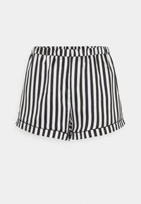 Loungeable - STRIPED CAMI SET - Pyjama - black/white - 3