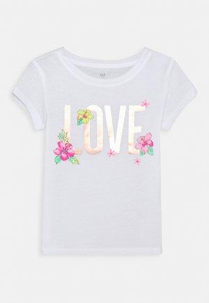 GIRLS - T-Shirt print - new off white
