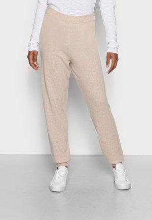 EWANDA - Teplákové kalhoty - natural melange