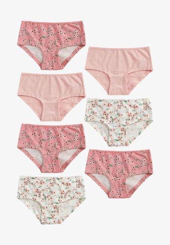 7 PACK  - Kalhotky - pink