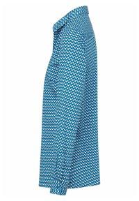 PETER HAHN - Button-down blouse - blau/ weiß - 3