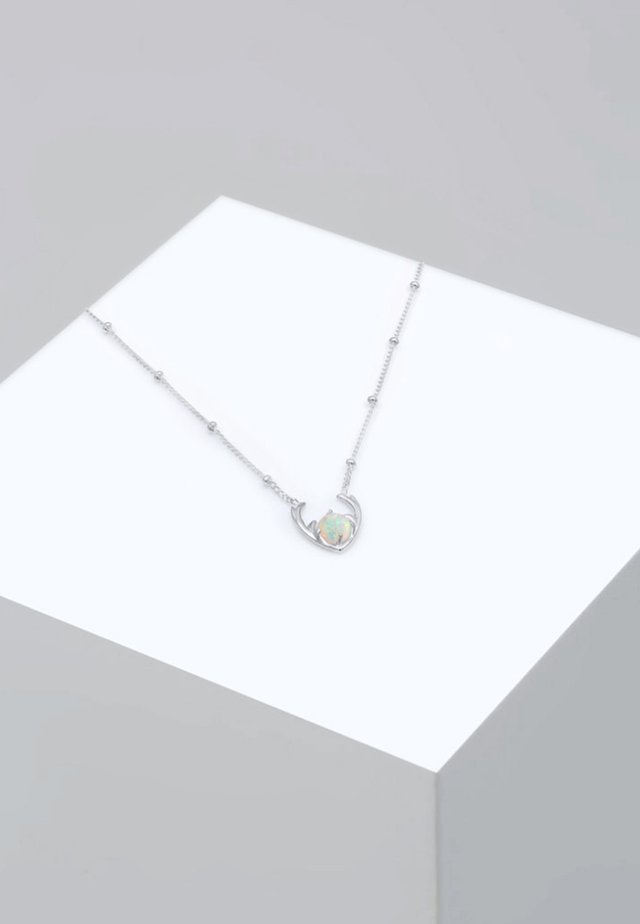 GEWEIH - Ketting - silver-coloured