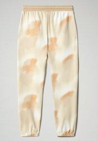 Napapijri - M-AIRBRUSH H AOP - Tracksuit bottoms - beige camou - 7