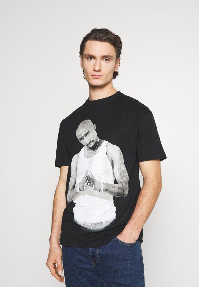 PAC CLAP - T-shirt imprimé - black