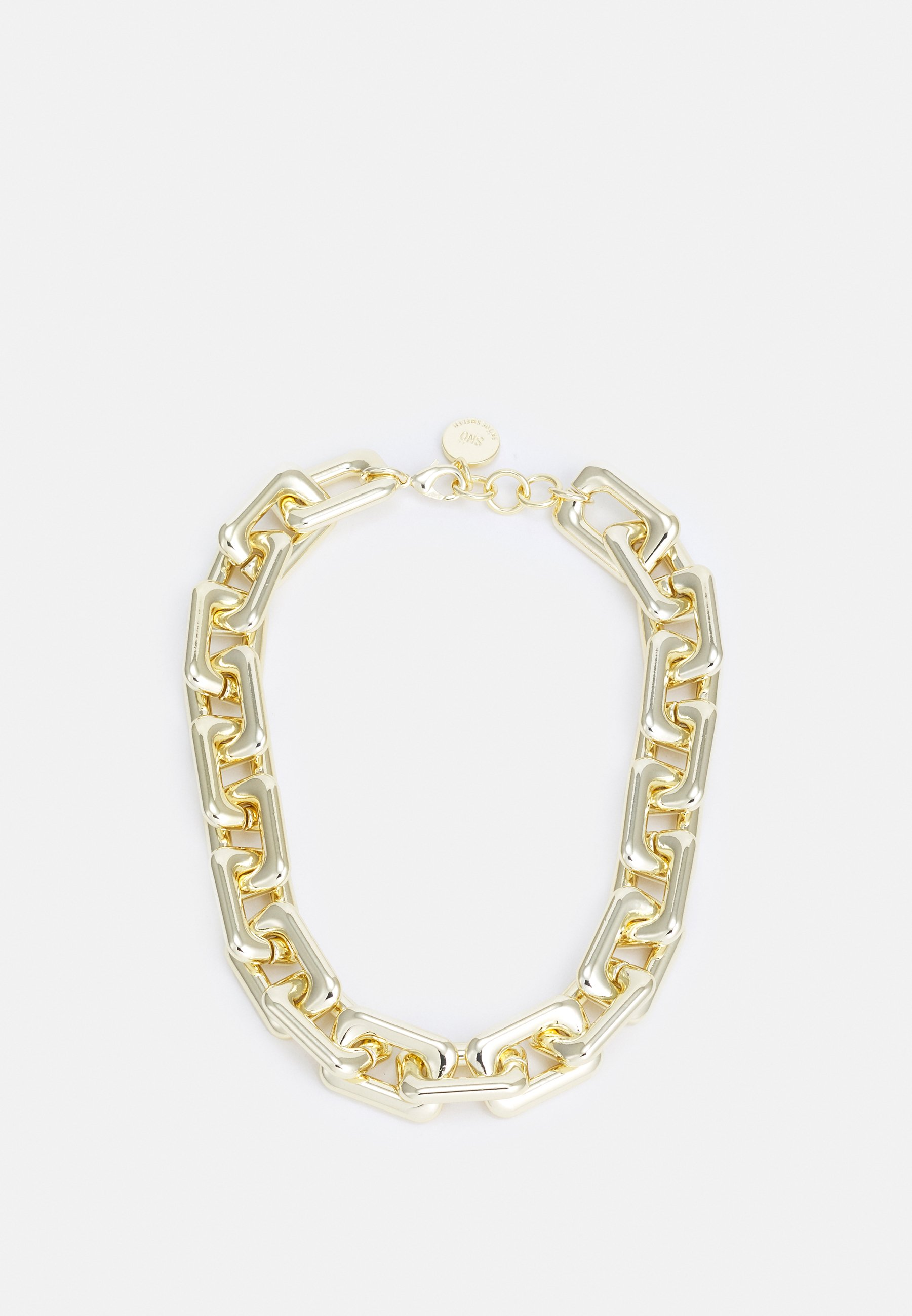 Women AMBER BIG CHAIN NECK - Necklace