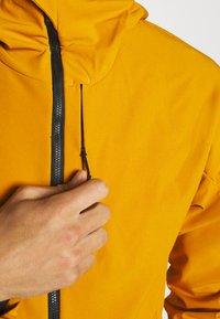 adidas Performance - Soft shell jacket - gold - 5