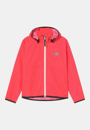 JORI 201 JACKET UNISEX - Waterproof jacket - coral red