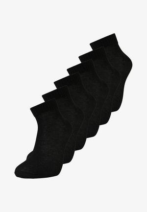 6 PACK - Calcetines - black