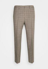 Trousers - beige dark