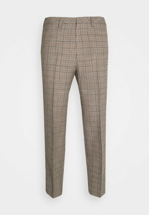 Trousers - beige dark