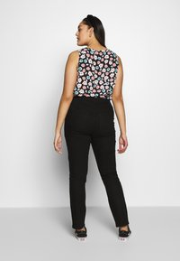 JUNAROSE - by VERO MODA - JRONENOVINA - Jeans Skinny Fit - black denim - 2