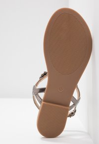 Anna Field - T-bar sandals - gunmetall - 6