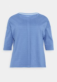 MY TRUE ME TOM TAILOR - BATWING WITH PLEAT - Print T-shirt - marina bay blue - 3