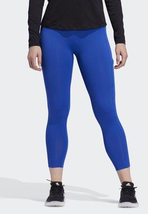 ADIDAS X UNIVERSAL STANDARD 3-STRIPES 7/8 LEGGINGS - Collant - team royal blue