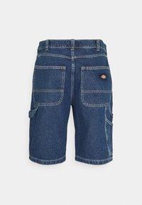 Dickies - GARYVILLE - Denim shorts - classic blue - 1