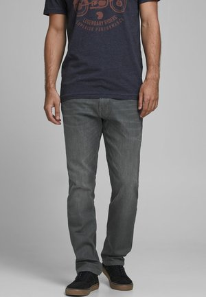 Relaxed fit jeans - light grey denim