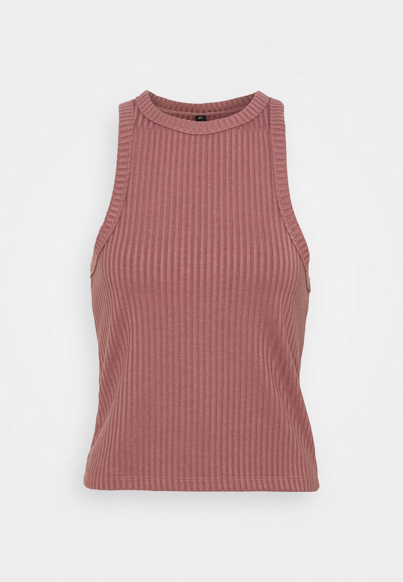 Cotton On Body - LIFESTYLE RACER TANK - Top - dusty rose