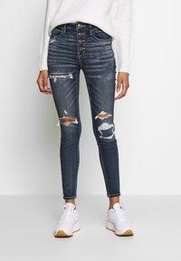 American Eagle - Jeans Slim Fit - faded indigo - 0
