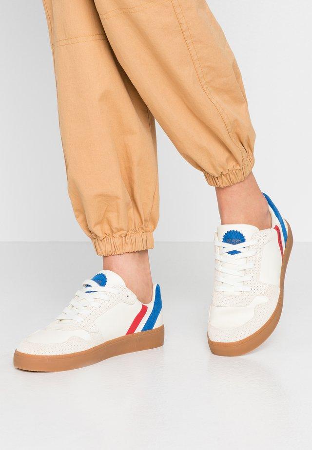 LAURITE - Sneakers laag - cream/blue