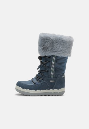 Winter boots - azzur/jeans/nuv