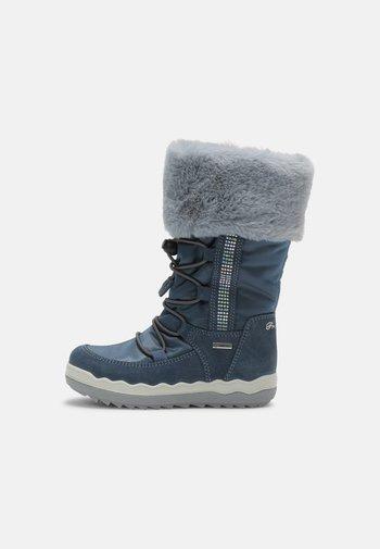 Snowboot/Winterstiefel - azzur/jeans/nuv