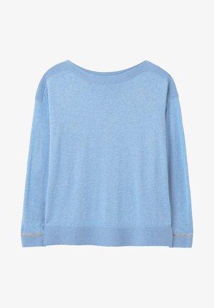MIT U-AUSSCHNITT VIVIANNA - Sweatshirt - blau