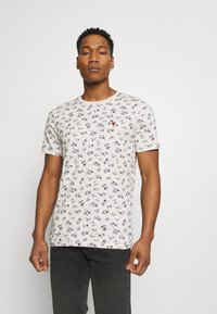 Jack & Jones PREMIUM - JPRBLUTOM TEE CREW NECK - T-shirt med print - rainy day - 0